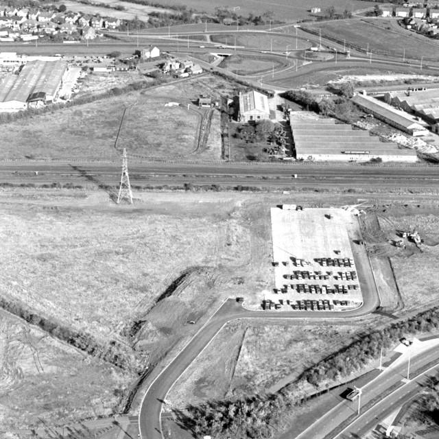 """""""Bretton - Mallard Road (1979)"""" stock image"""