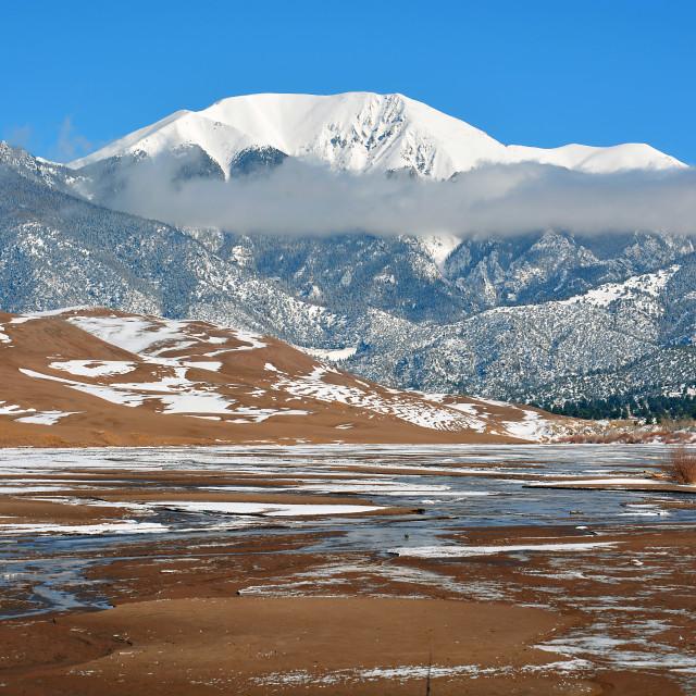 """Landscape in Colorado"" stock image"