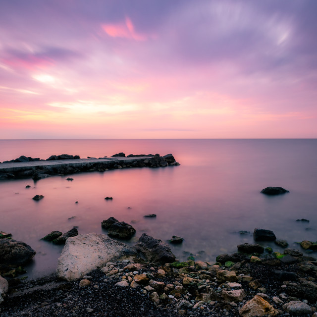 """Black Sea coast"" stock image"