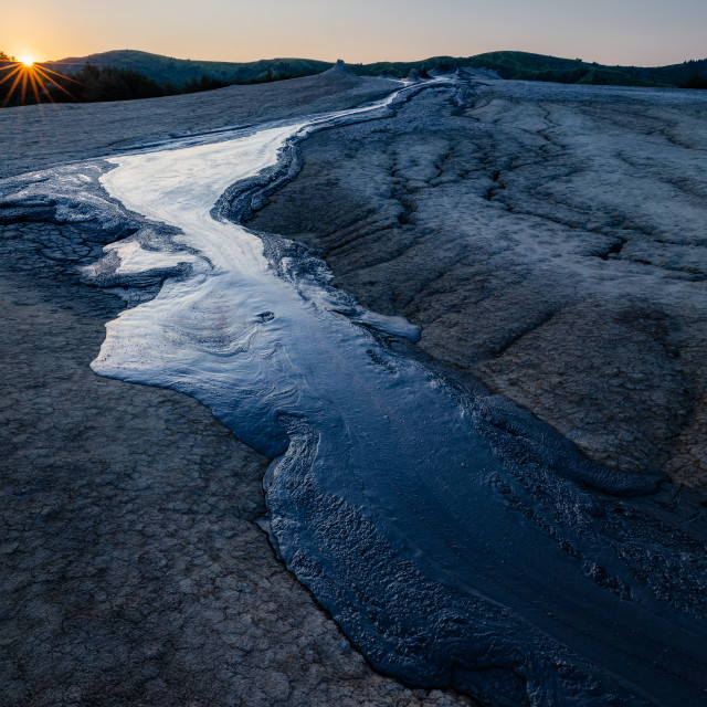"""Hydrocarbon river"" stock image"