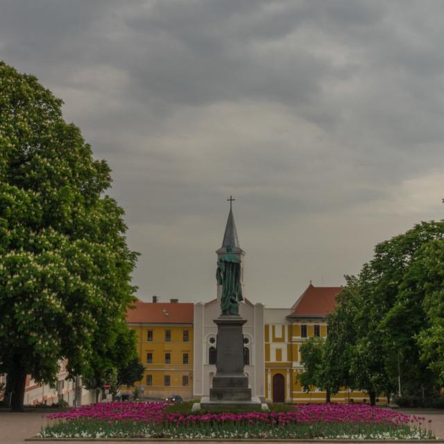"""Pecs, Hungary"" stock image"