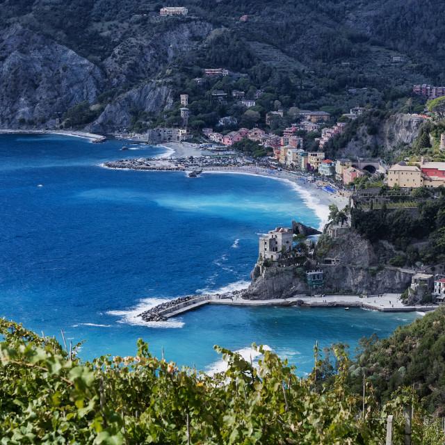 """Charming seaside village of Monterosso al Mare"" stock image"