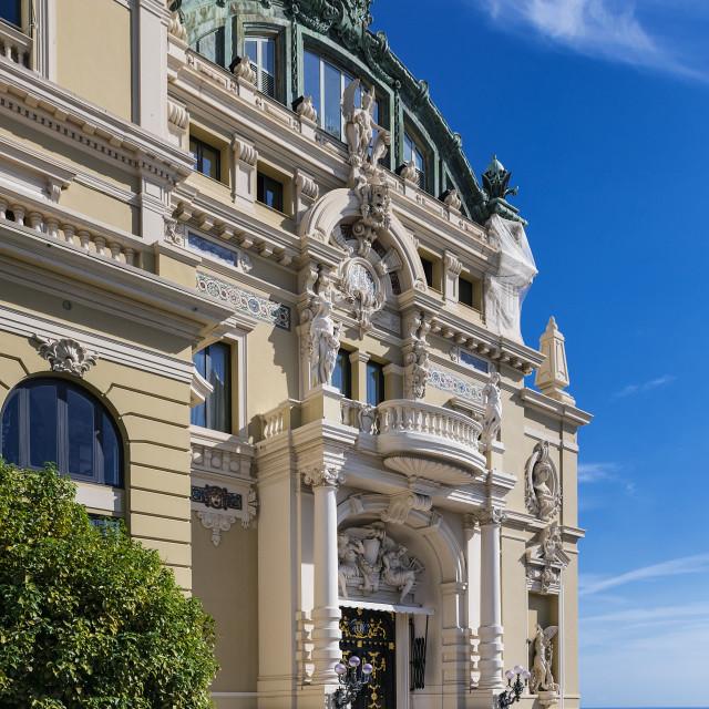 """""""Opéra de Monte-Carlo"""" stock image"""