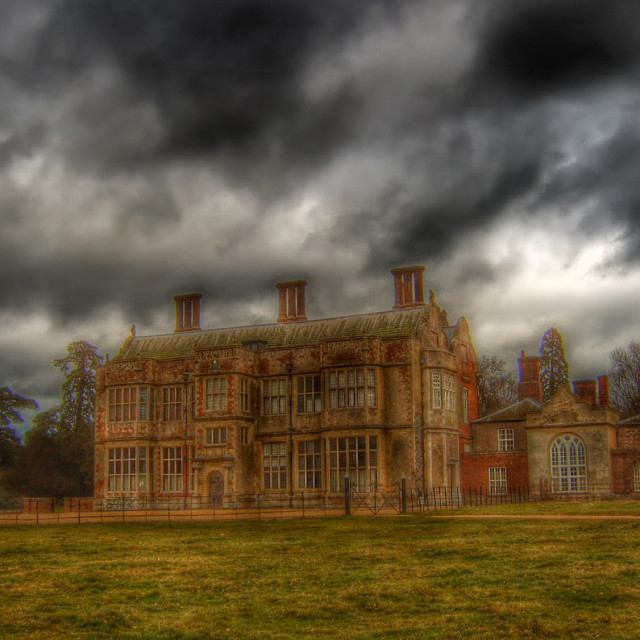 """Felbrigg Hall"" stock image"