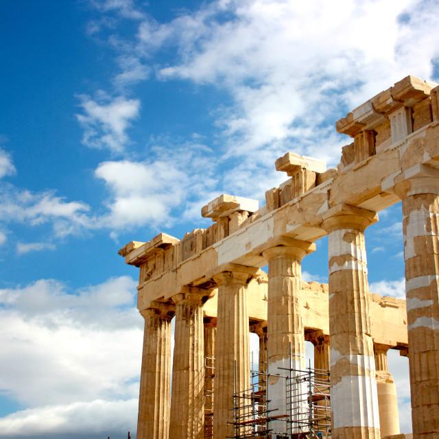 """""""The Parthenon"""" stock image"""