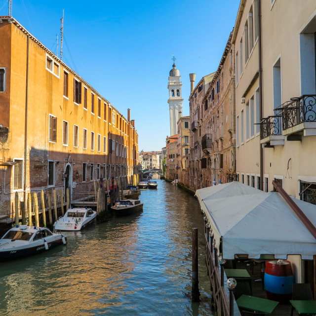 """Venice Alleyway"" stock image"