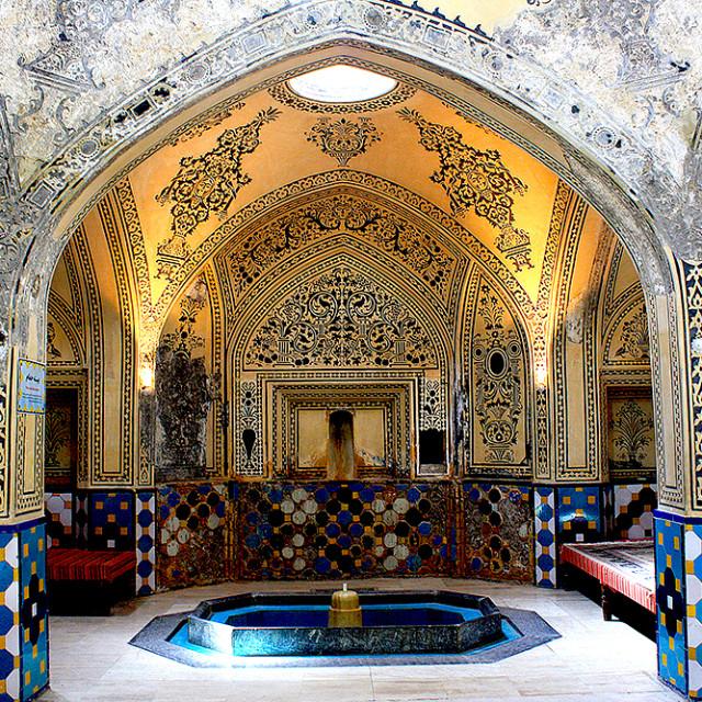 """""""Sultan Amir Ahmad Bathhouse"""" stock image"""
