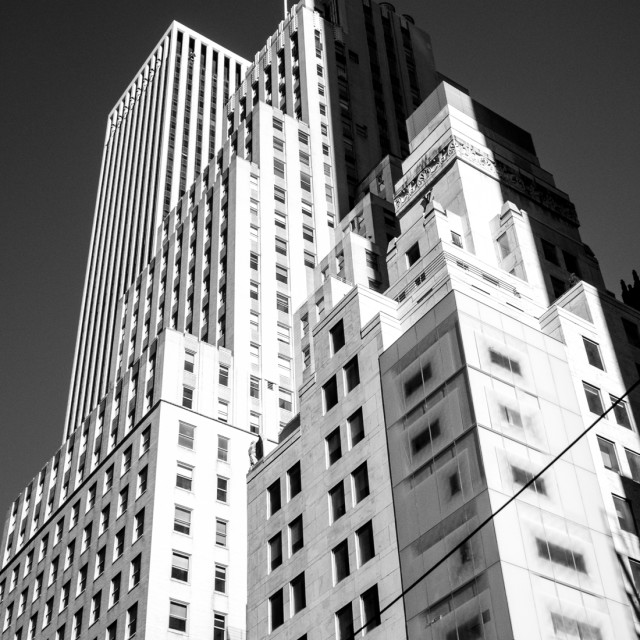 """Fifth Avenue"" stock image"