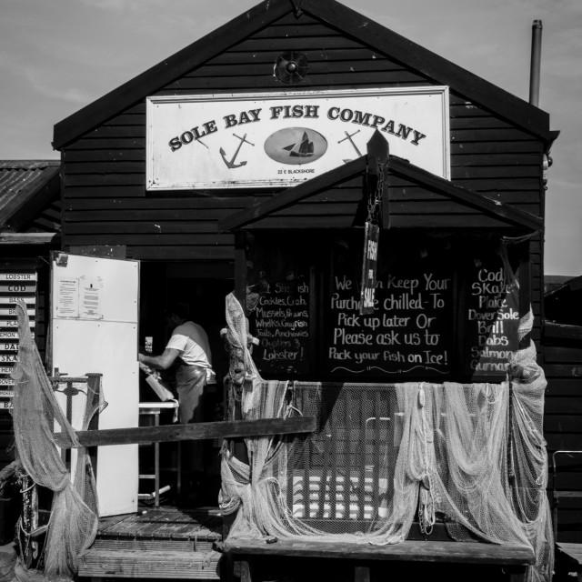"""Fish Hut"" stock image"