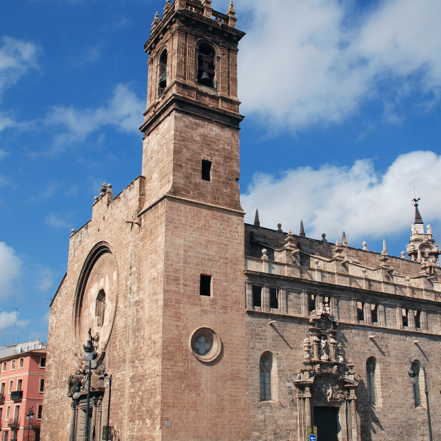 """Church of Santos Juanes in Valencia"" stock image"