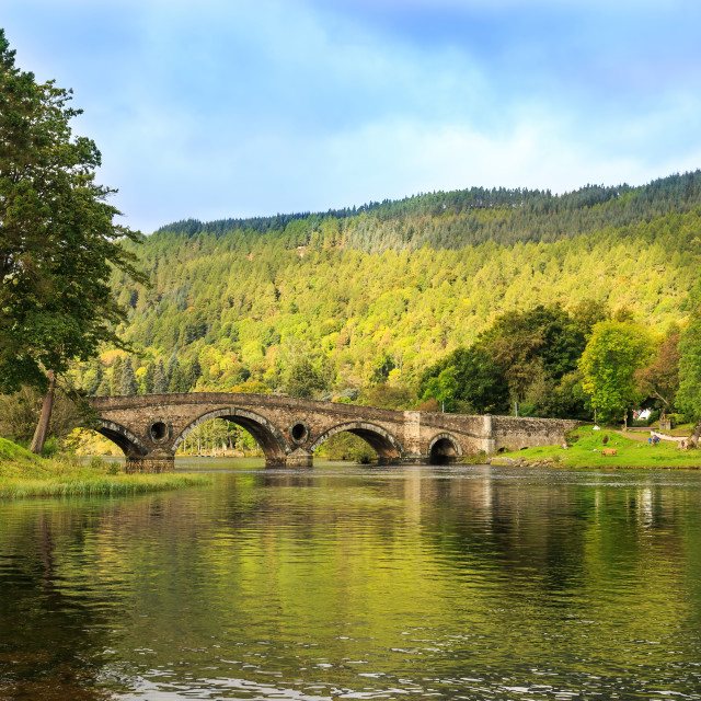 """Kenmore view from the banks"" stock image"