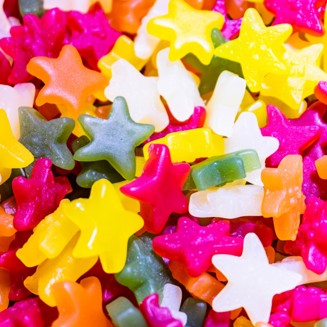 """Candy Stars"" stock image"