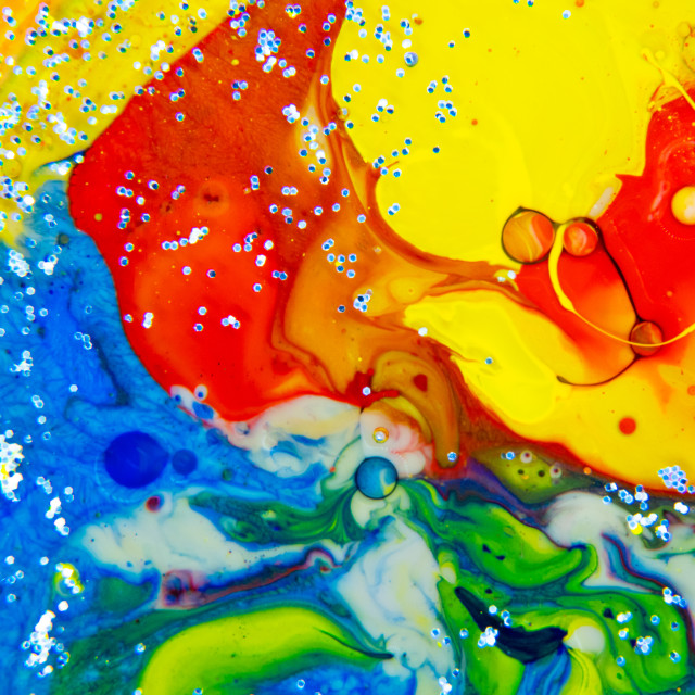 """Abstract Painting"" stock image"