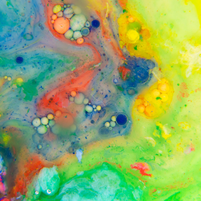 """""""Abstract Painting"""" stock image"""