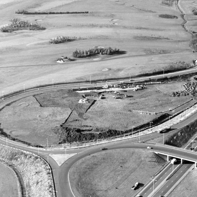 """Thorpe Wood Golf Course (1979)"" stock image"