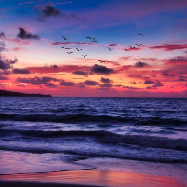 """Bali Evenings"" stock image"