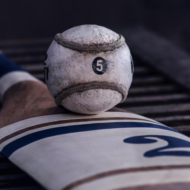 """Having A Ball"" stock image"