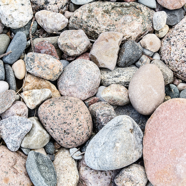 """""""Stones on the beach background"""" stock image"""