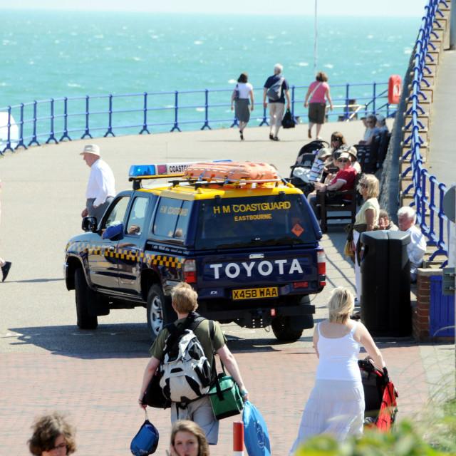 """HM Coastguard 4x4"" stock image"