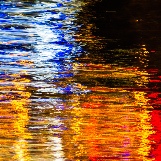 """Abstract Light Reflections I"" stock image"