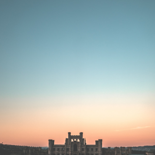 """""""Lowther Castle"""" stock image"""