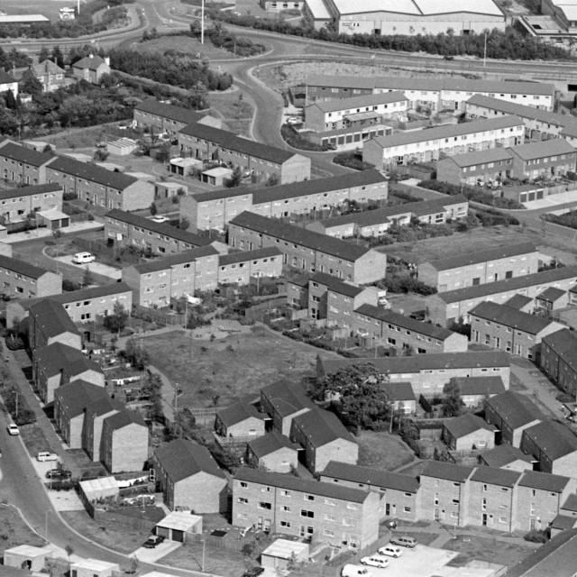 """""""Watergall / Norburn, Bretton (c.1983)"""" stock image"""