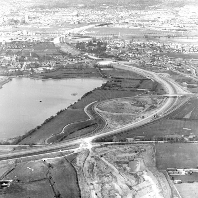 """""""Parkways, Stanground (1983)"""" stock image"""