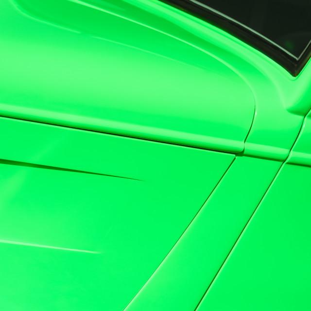 """emerald green vehicle panel"" stock image"