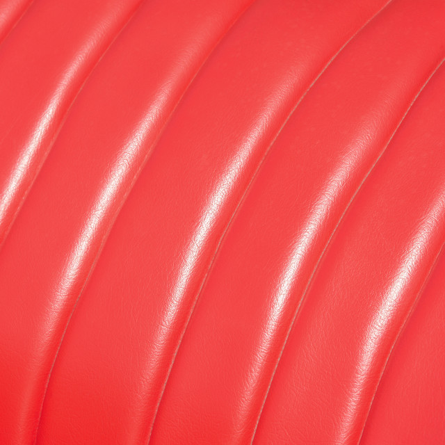 """red leather car seat upholstery"" stock image"