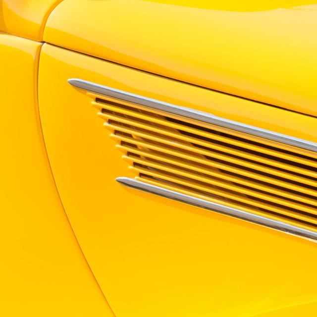 """""""yellow car door panel"""" stock image"""