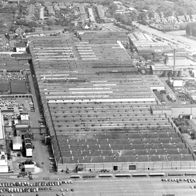 """Perkins Engines, Eastfield (1984)"" stock image"