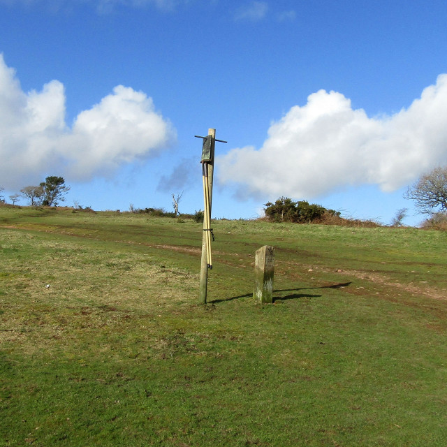 """Lydeards Hill, Quantocks"" stock image"
