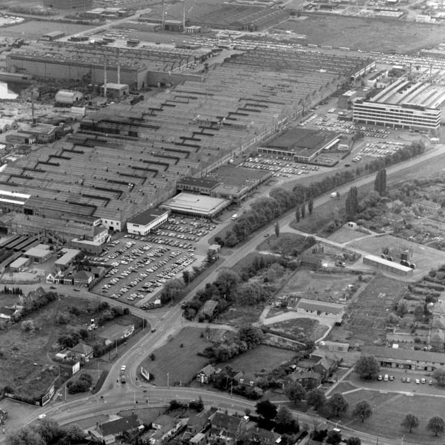 """Perkins Engines, Eastfield/Newark (1983)"" stock image"