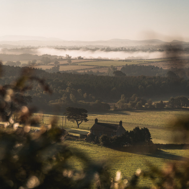 """""""View from Whinfell 2"""" stock image"""