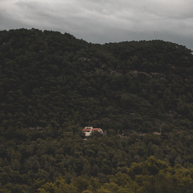 """Mountain Retreat"" stock image"