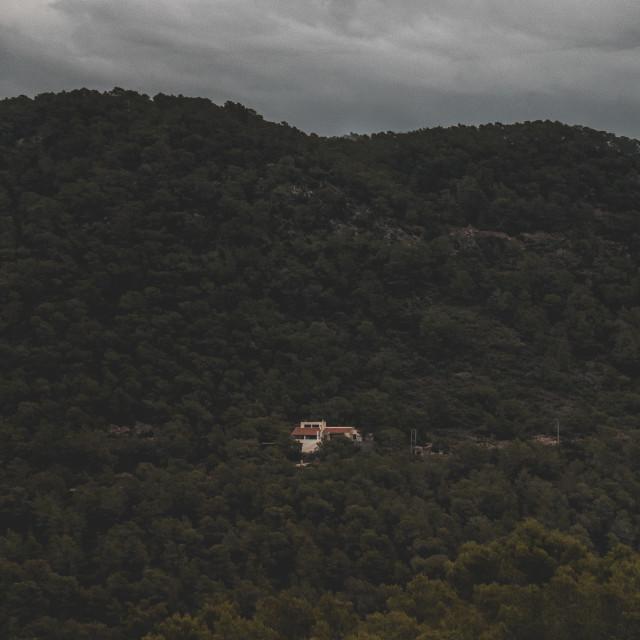 """Mountain Retreat 2"" stock image"