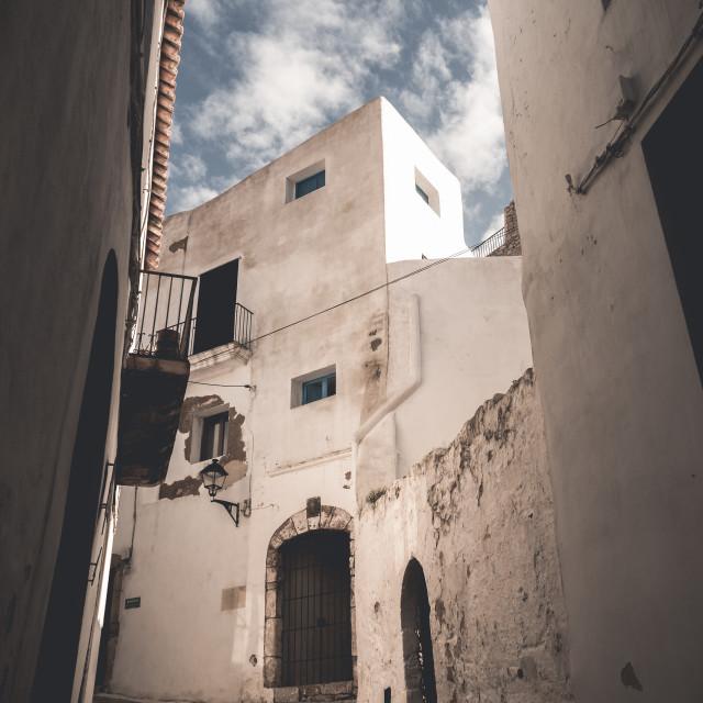 """Ibiza Old Town"" stock image"
