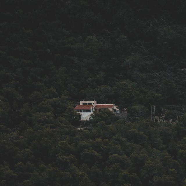 """Mountain Retreat 3"" stock image"