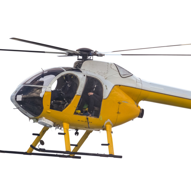 """""""Isolated Search And Rescue Helicopter"""" stock image"""