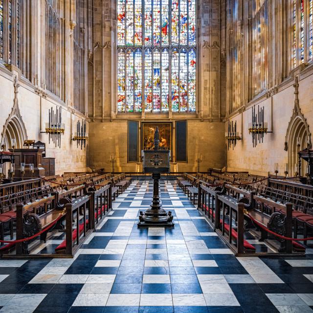 """""""King's College Chapel, Cambridge UK."""" stock image"""