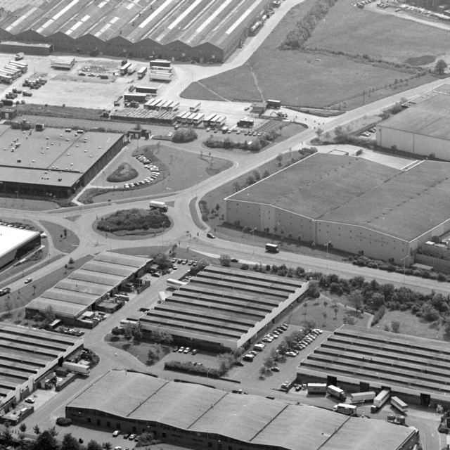 """Woodston Industry (c.1985)"" stock image"
