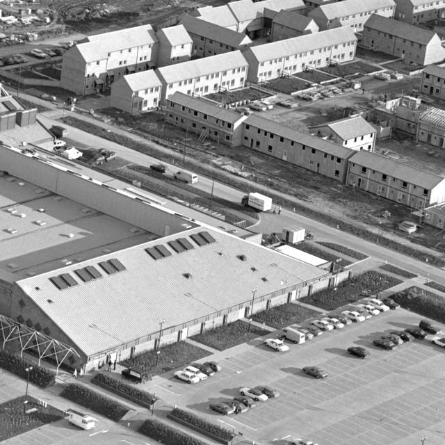"""""""Orton Centre (1979)"""" stock image"""