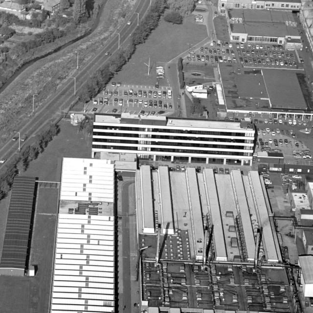 """Perkins Engines, Eastfield (1979)"" stock image"
