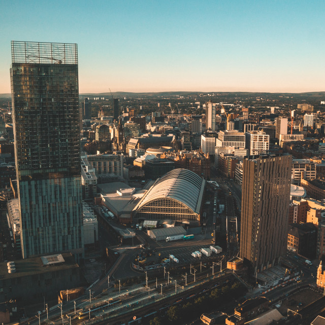 """""""Deansgate"""" stock image"""