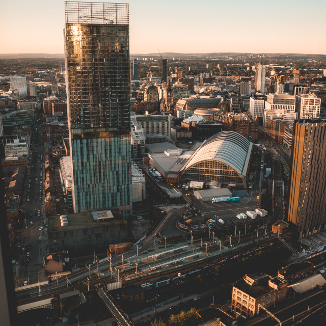 """""""Deansgate 3"""" stock image"""