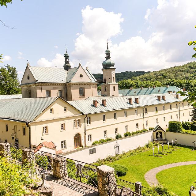 """The Monastery of Dicalced Carmelites in Czerna near Krzeszowice (Poland)"" stock image"