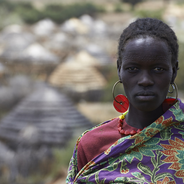 """Ugandan woman"" stock image"