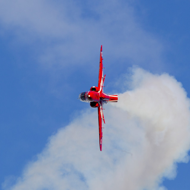"""Red Arrows Hawk"" stock image"
