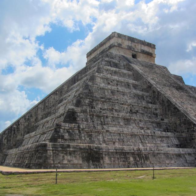 """Chichen Itza Mayan Temple Quintana Roo"" stock image"