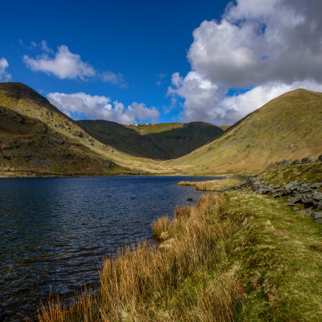 """""""Kentmere dale Head"""" stock image"""